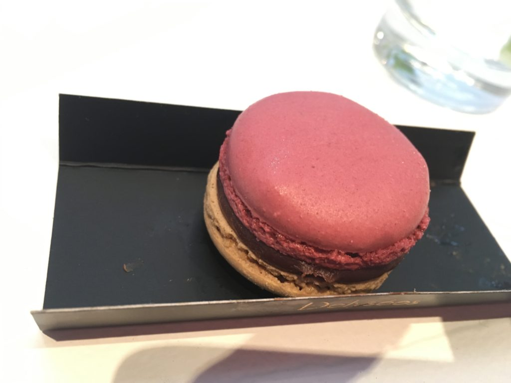 macaron at blueberry cheesecake at summer rendezvous at dj at delysee french pastries