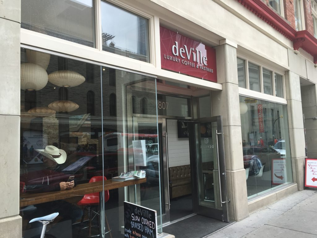 deville coffee downtown calgary