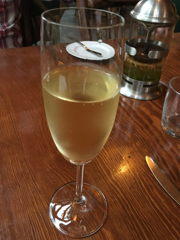 the grape prosecco at river cafe calgary