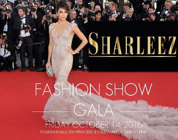 Sharleez Fashion Show Gala – Get Your Tickets Today!