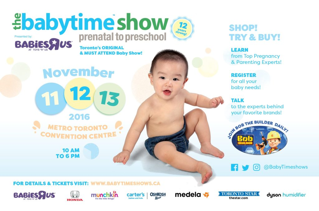 GIVEAWAY!! Fall BabyTime Show Nov 11 – Nov 13 (closed)