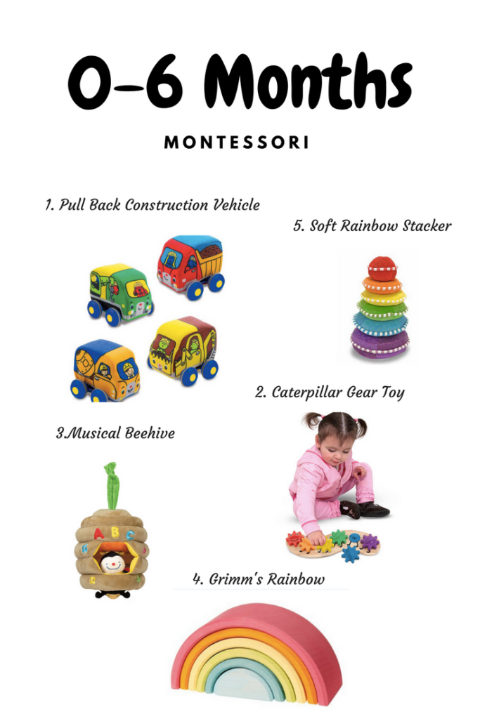 0-6 months Montessori & Development Toys – Cyber Monday CODE!!