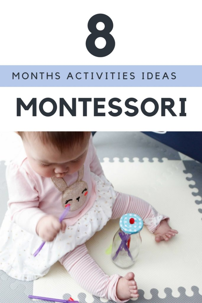 8 Months Montessori Learning