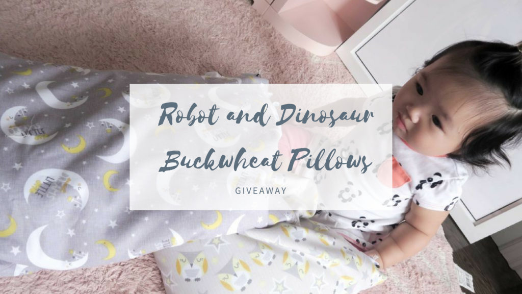 Robot and Dinosaur – Best Buckwheat Pillows + Giveaway!