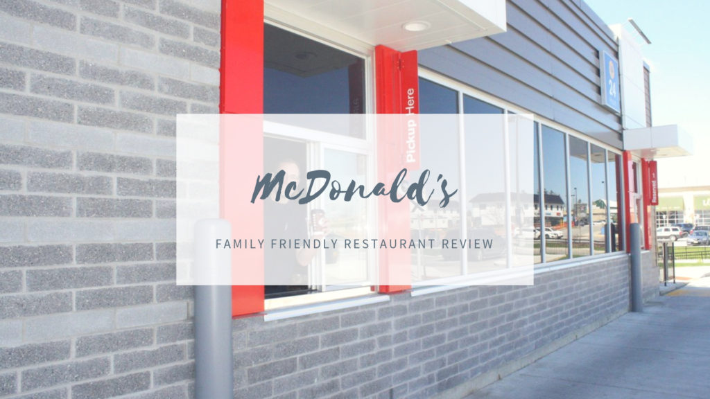 McDonald's – East Gwillimbury Location [Family-Friendliness Review]