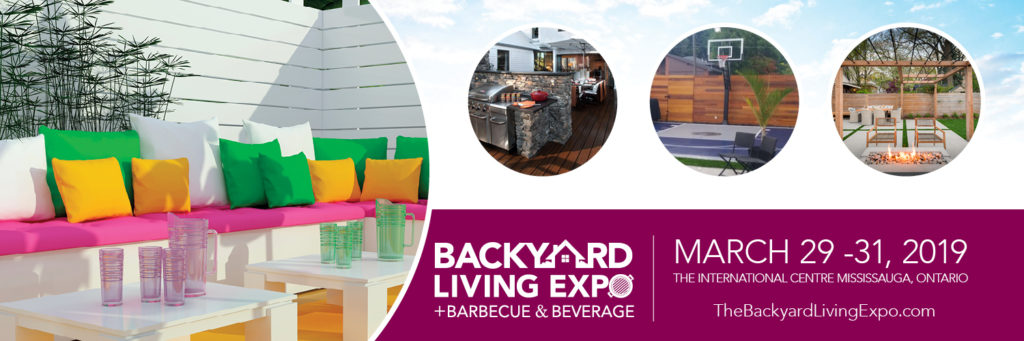 Backyard Living Expo March 29-31 at The International Centre
