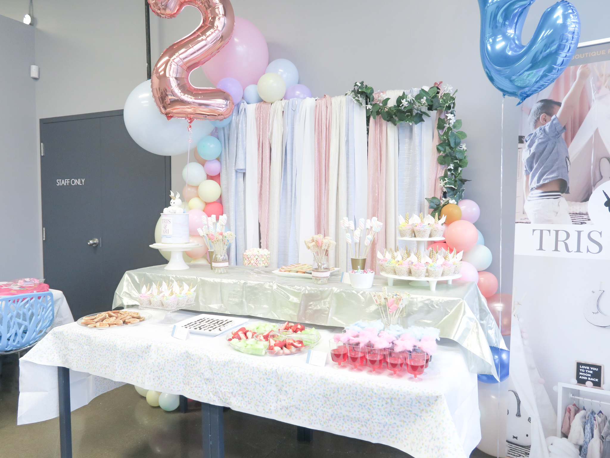Diy Balloon Garland Backdrop Stand