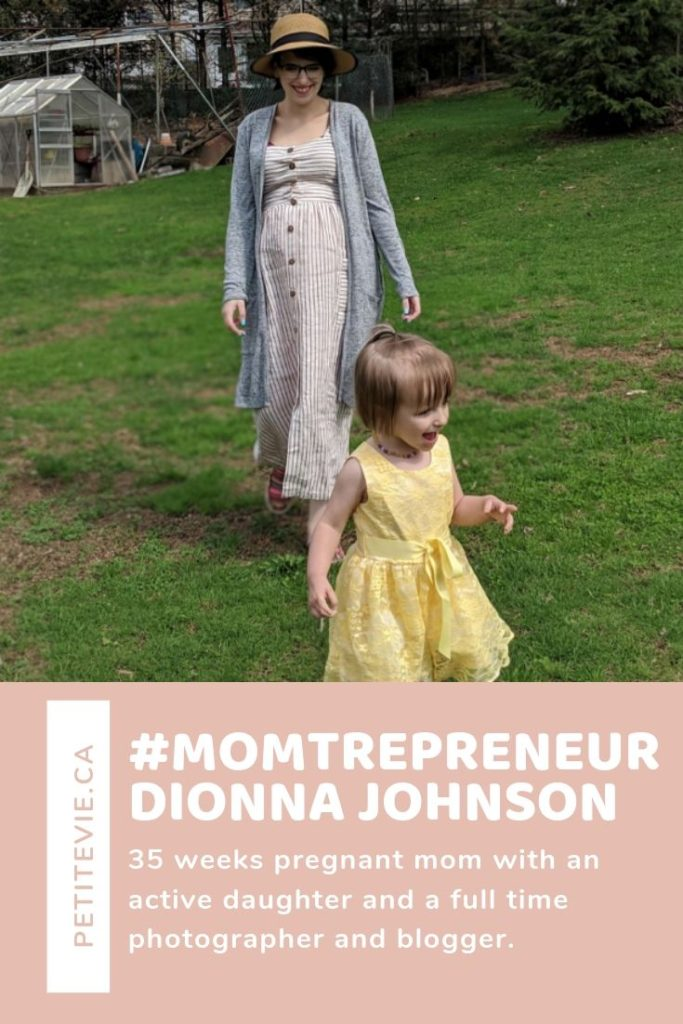 #MOMTREPRENEUR – Dionna Johnson