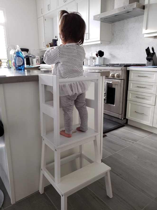 Ikea Hack: Toddler Learning Tower Tutorial