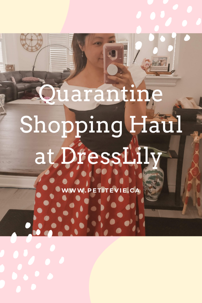 Quarantine Shopping Haul at DressLily