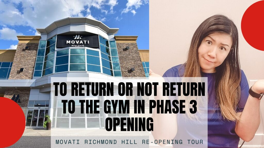 Visiting the Gym During Covid Quarantine Reopening Phase 3 – Movati Richmond Hill