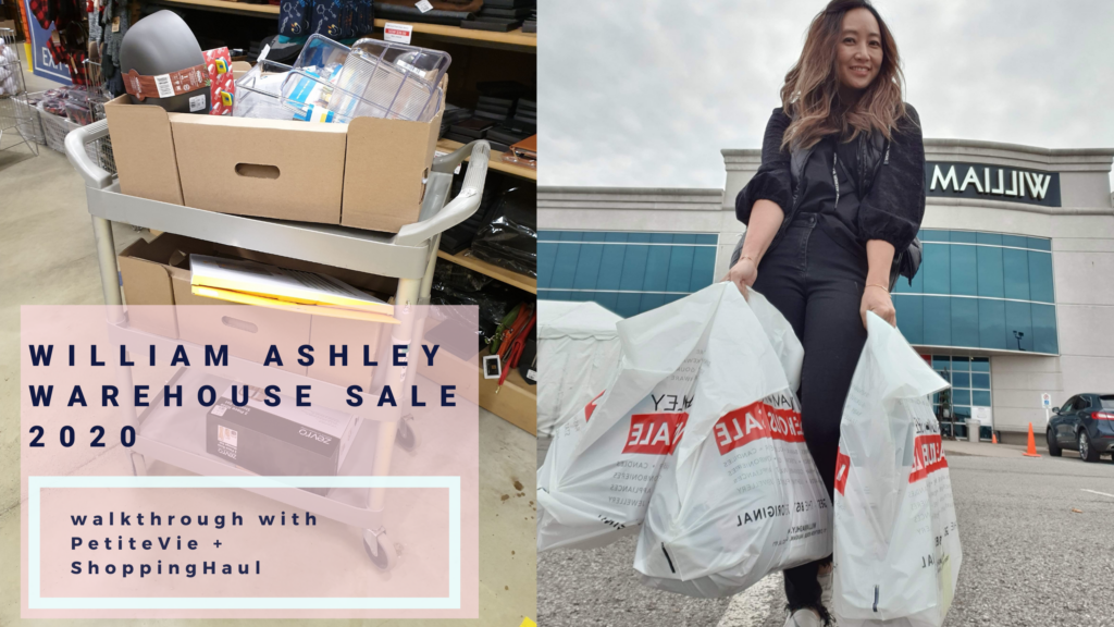 William Ashley Warehouse Sale 2020